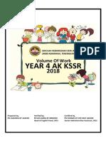 Vol of Work Bi 4ak 2018