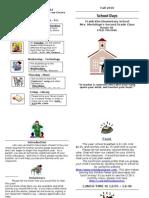 Parent Info Packet
