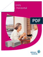 Be Tech Guide Horizontal Low Profile Fan Coil Units -Form 115-26-Eg5 (1014) Copy