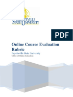 QA Evaluation Rubric