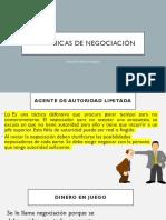 15 técnicas de negociación