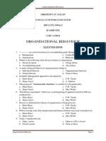 Organizational Behavior MCQs