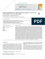 Numerical Investigation on Adding Substituting Hydrogen in the CDC and RCCI Combustion in a Heavy Duty Engine
