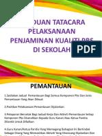 Panduan Tatacara Pelaksanaan Penjaminan Kualiti Pbs 2018