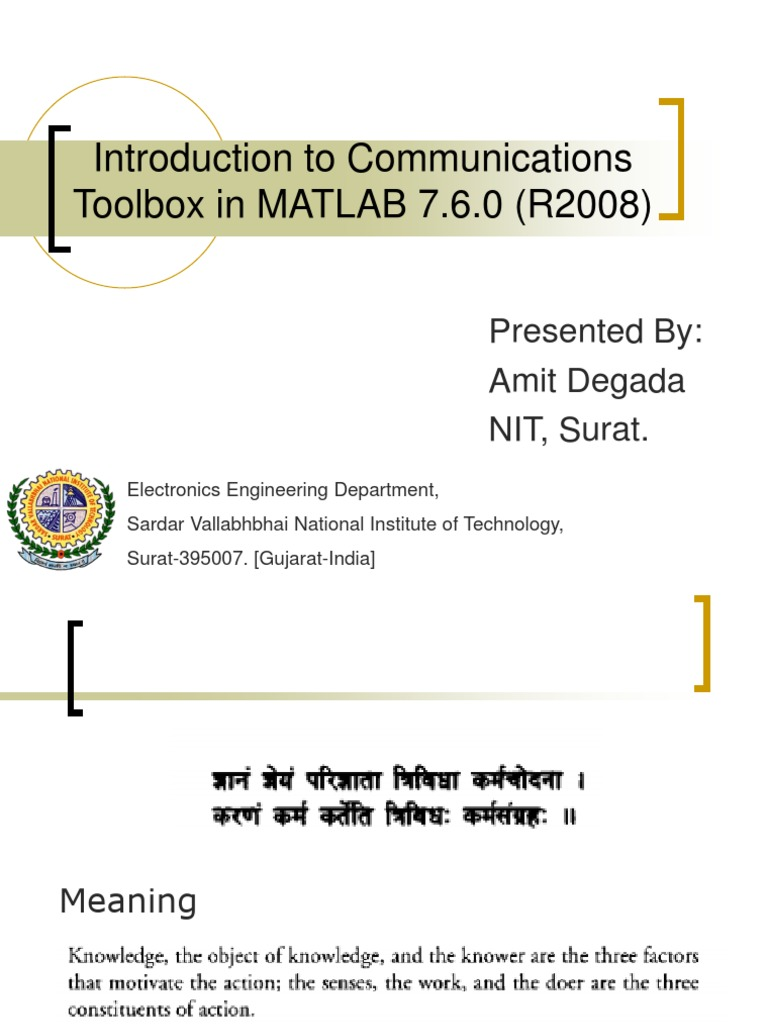 Introduction to Communications Toolbox in Matlab 7 | Modulation |  Telecommunications Engineering
