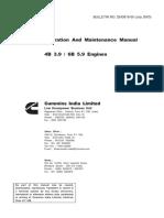 Manual B Series Industrial Engines