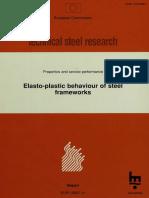 Elasto-plastic Behaviour of Steel Frameworks