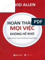 Hoan Thanh Moi Viec Khong He Kho - David Allen