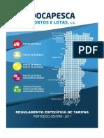 Regulamento Específico de Tarifas - Portos Dos Centro 2017