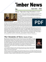 The Timber News! -- August/September 2010 (Updated)