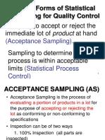 Best Acceptance Sampling