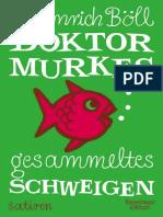 Dr. Murkes Gesammeltes Schweige - Boll, Heinrich