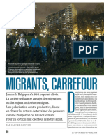"Le Vif, ""Migrants, Carrefour"""