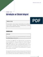 Aula 12 - Introdução ao Calculo Integral
