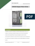 Datasheet-M542H Stepper Motor Driver - PDF