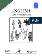 LM_GRADE 6_English 6 DLP 33 - Using Complex Sentence
