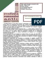 Evolutia romanului antic.doc