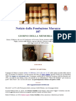 Marazza Newsletter 107