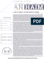 Mayan 'Haim Chémot 5778