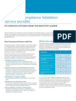 Trustwave Compliance Validation Service Bundles Services Brief