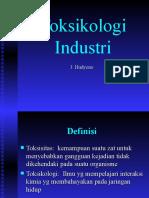 Toksikologi Industri, Pneumokoniosis, Logam Berat Nop 15.ppt