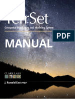 Terrset Manual