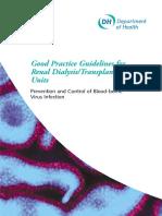 Good Practice Guidelines Renal Dialysis Transplantation