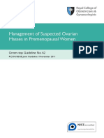 Management of suspected ovarian masses in premenopausal women.pdf