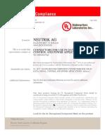 UL+Certificate+of+Compliance