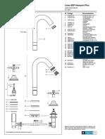 Juego Para Lavatorio b2p Newport Plus 0207 b2p Despiece PDF B 13.0 2 2