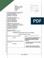 Court Filing HP Civil Complaint Against Mark Hurd