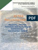 Aftes Repair Tunel
