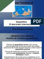 Modelos Geopolíticos