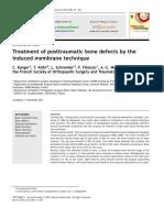 La Technique de La Membrane Induite Dans Les Reconstructions Osseuses