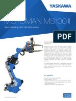Hình 1.24. Robot Hàn MS100II - Truyền Động Khí Nén