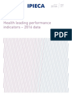Health Leading Performance Indicators 2016data