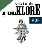 Revista de Folklore, 8