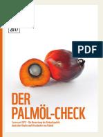WWF Palm Oil Scorecard 2017