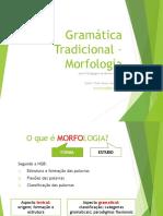 GT – Morfologia_aula 2 (2ºsem2016)