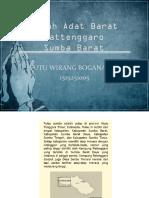 Rumah Adat Barat Rattenggaro