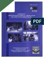 Seminario Identificación, Manejo y Resolución de Conflictos Ambientales