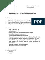 FRACTIONALdistillation