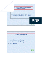 0. Power Generation