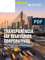 Relatorio Transparencia Internacional