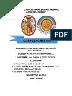 Complexometria Info