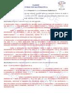 2010-2 Est Alg II 2ª Prova Gabarito