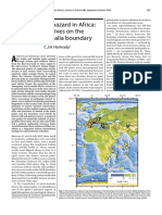 Earthquake hazard in Africa perspectives on the Nubia–Somalia boundary.pdf