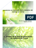 (SP)5. Recycling Industry Promotion Policy