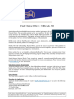 Chief Clinical Officer