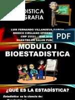 Bioestadistica y Demografia